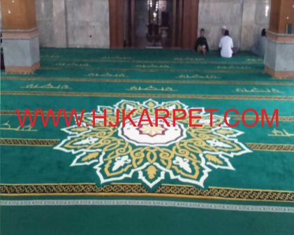 Karpet Masjid Islamic Centre Cibubur
