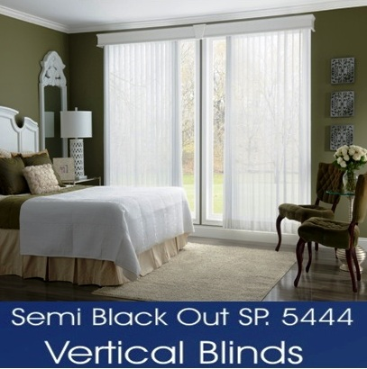 VERTICAL BLINDS SERIES 5444