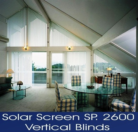 VERTICAL BLINDS SERIES 2600