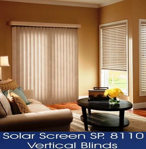 VERTICAL BLINDS SERIES 8110