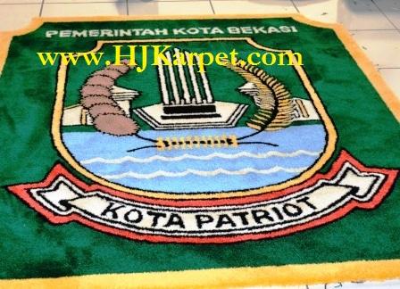 Lambang Handmade Kota Bekasi HJKarpet