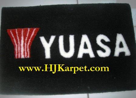 Karpet Lambang YUASA Handmade