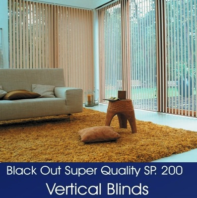 VERTICAL BLINDS SERIES 200
