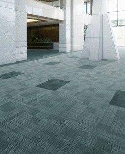 Karpet Sumi Green Block