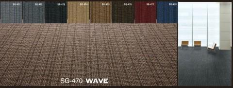 Karpet Sumi Green Wave