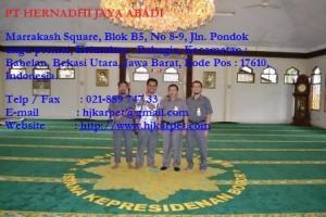 Karpet Masjid Baitussalam Bagus