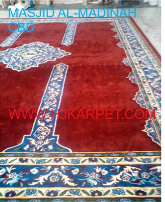 KARPET MASJID TEBAL CUSTOM DESIGN by hjkarpet.com DESIGN