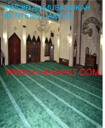 KARPET MASJID TEBAL CUSTOM DESIGN by hjkarpet.com