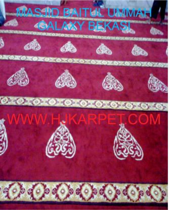 KARPET MASJID CUSTOM DESIGN