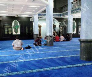 Pemasangan Karpet Masjid NURUL MAA I PDAM Tirta Pakuan