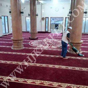 Pemasangan Karpet Masjid As Salafiah Lido Bogor