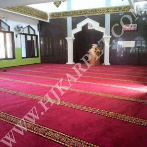 Pemasangan Karpet Masjid Baitul Hidayah Tegal