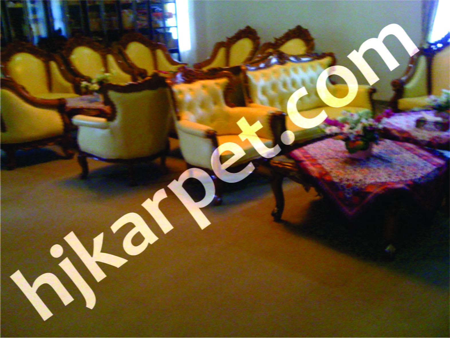 Pemasangan Karpet Bupati Kutai Barat