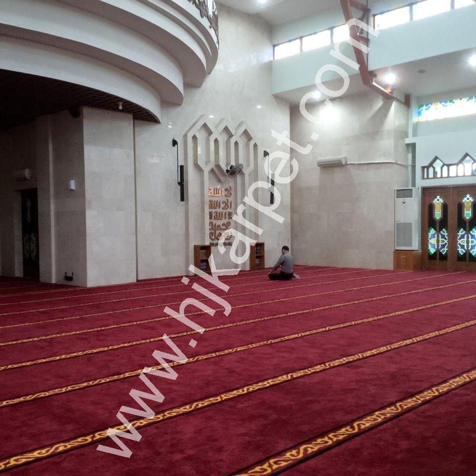 Pemasangan Karpet Al Jama ah Pertamina Klayan Cirebon