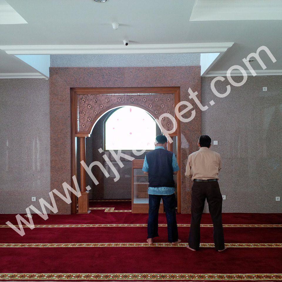 Pemasangan Karpet Masjid Al Ikhlas Bukopin Tomang
