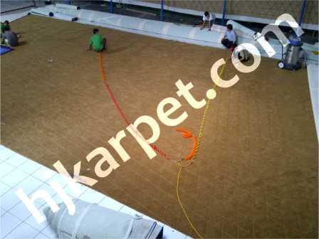 Pemasangan Karpet Energy Building