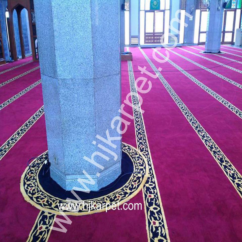 Pemasangan Karpet Masjid Al Azhar Kalimalang Bekasi