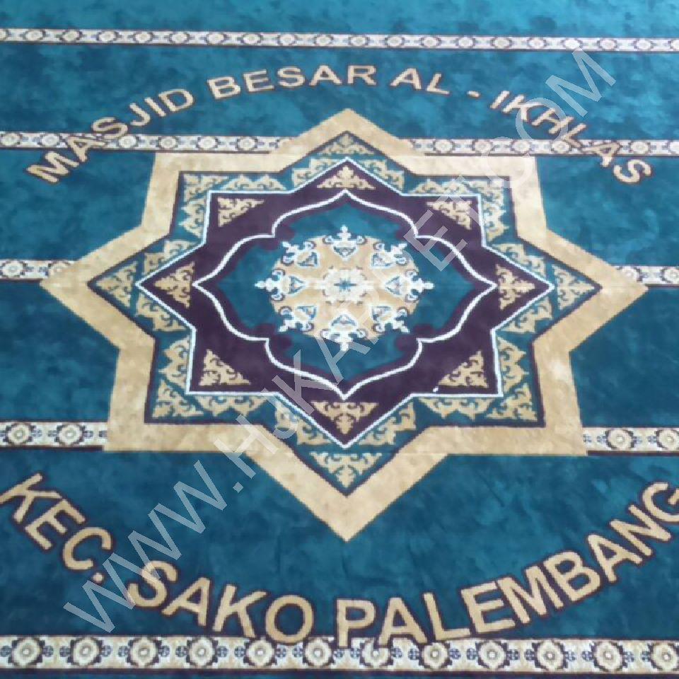 Masjid Besar Al Ikhlas Sako Kenten Palembang