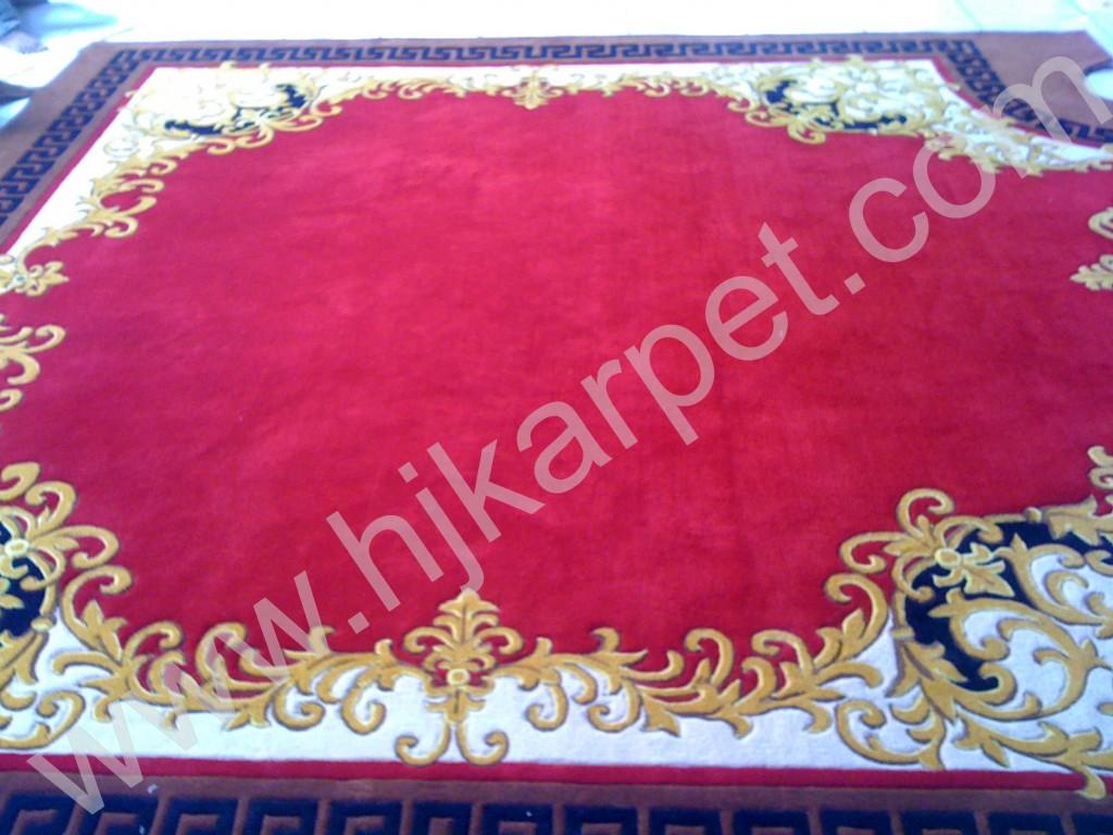 Pemasangan Karpet Pelindo Medan