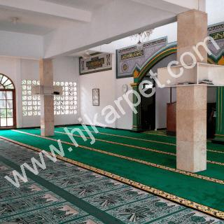 Pemasangan Karpet Masjid ARRIDWAN Pasar Minggu