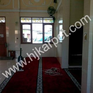 Pemasangan Karpet Masjid Al hidayah Ciremaigiri