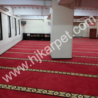 Pemasangan Karpet Masjid Assyifa RSAB HARAPAN KITA Slipi