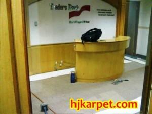 Pemasangan karpet PT. Indo Trade