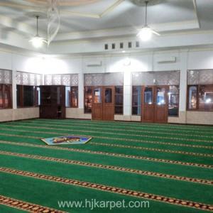 Pemasangan Karpet Masjid SUPM Tegal