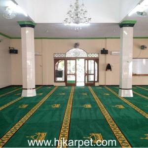 Pemasangan Karpet Masjid Attaqwa Paku Jaya Tangerang