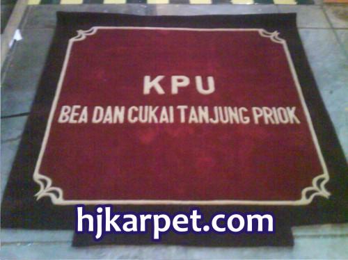 Pemasangan Karpet KPU Bea Cukai Tanjung Priok