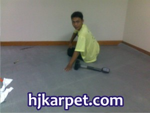 Pemasangan Karpet Menara Garcia