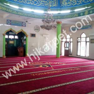Pemasangan Karpet Masjid Jami'annur Yonarmed 7 105 GS