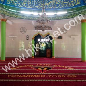 Pemasangan Karpet Masjid Jami'annur Yonarmed