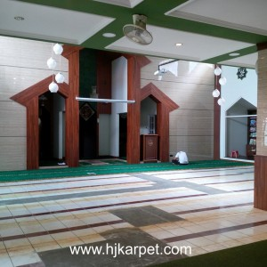 Pemasngan Karpet Masjid AL - Hidayah Bandung