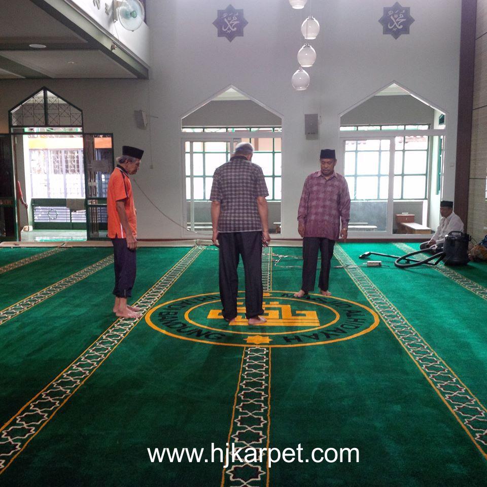 Pemasangan Karpet Masjid AL Hidayah Bandung