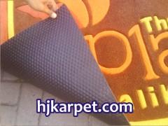 Pembuatan karpet Lift Plaza Balikpapan