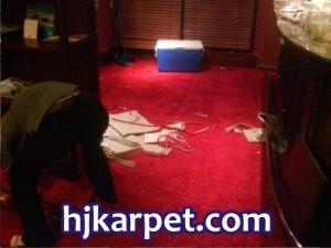 Pemasangan Karpet di Hotel Sangri-la