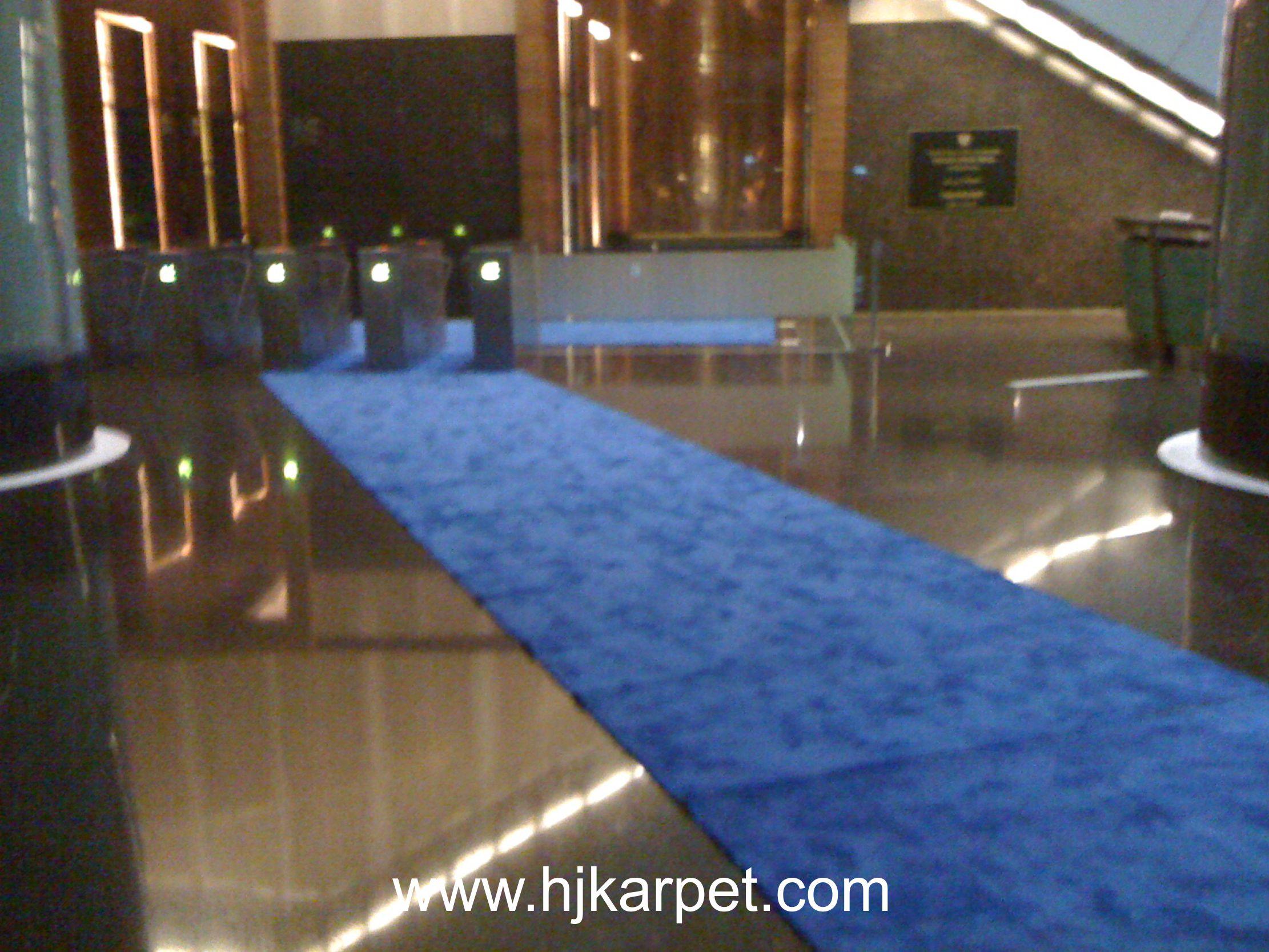 Pemasangan Karpet Gedung Transtv