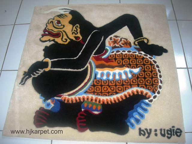 Karpet Wayang Semar