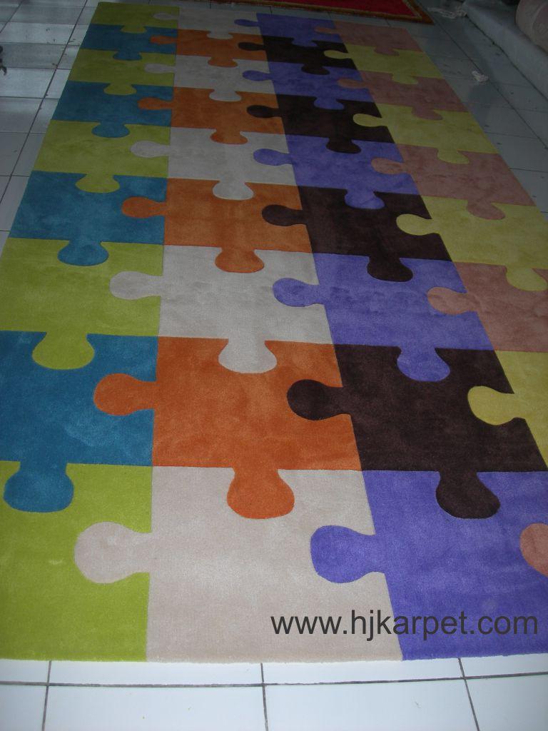 Karpet Motif Puzzel