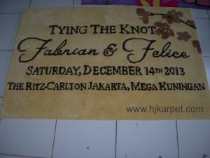 Karpet Handmade Ritz Carlton Jakarta