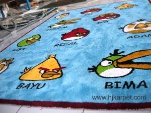 Karpet Santai Angry Bird