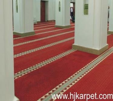 karpet masjid di kapuas