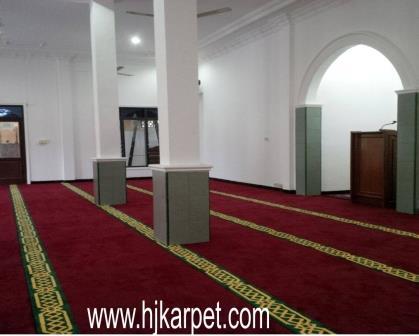 karpet masjid di sanggau