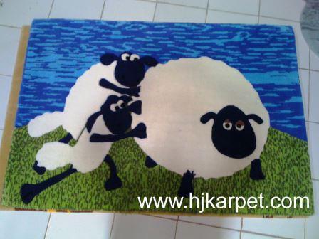 Rugs Lucu Shaun The Sheep