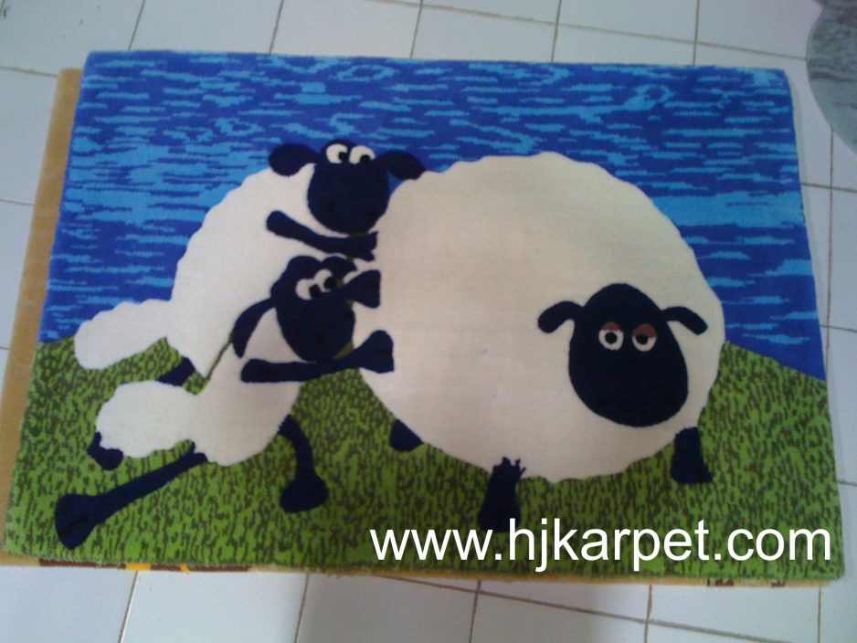 Rugs Lucu Shaun The Sheep