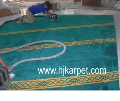 karpet masjid di keyong utara