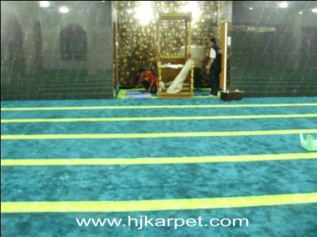 karpet masjid di buleleng
