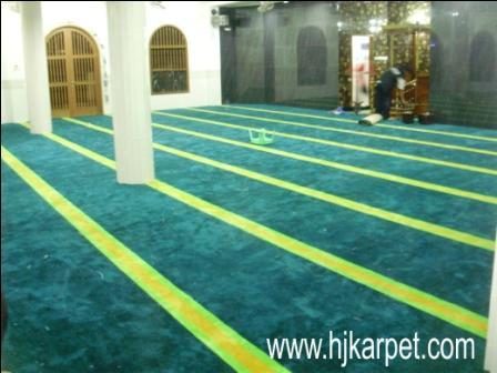 karpet masjid di minahasa tenggara