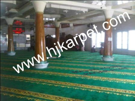 karpet masjid di kepulauan sangihe